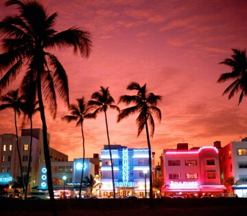 Rent a car in Miami Beach